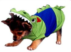 crocodile costume for dogs