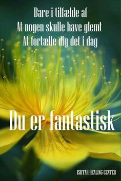 Du er fantastisk Healing, Quotes, Qoutes, Quotations, Sayings, Recovery