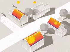 Google's Project Sunroof uses Google Maps data to calculate how much money you save if you install a solar panels  Example: For my girlfriend's old house in Menlo Park, Calif., Google says she could have saved $600 a year by installing enough photovoltaic panels (25 square meters) to generate 4 kilowatts. Installation would have cost her a total of $0 on a 20 year lease.   Math: Rate?