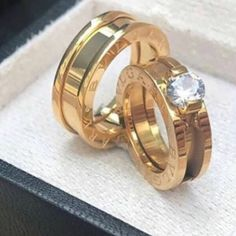 Bvlgari Wedding Ring, Bvlgari Ring, Wedding Rings, Gold Jewellery Design, Gold Jewelry, Jewelery, Jewelry Accessories, Women Jewelry, Engagement Rings Couple