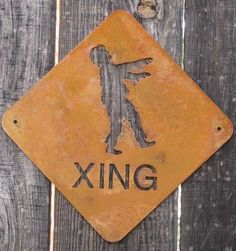 xing for outside!