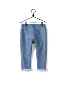 denim leggings - Collection - Baby girl (3-36 months) - Kids - New collection - ZARA United States