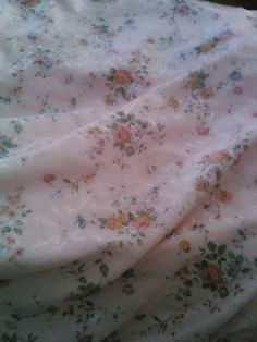 Very Sweet Satin Rose Bedspread..with welting by MyShabbyValentine, $30.00