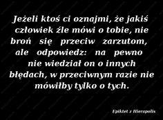 Epiktet z Hierapolis, Cytaty Sławnych Ludzi • Mysli.com.pl