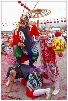 Taiwan - Temple festivity