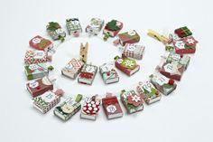 Christmas countdown - take a peek inside our magical matchbox advent calendar | Papercraft Inspirations