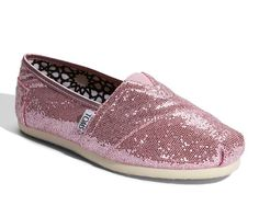 TOMS Pink Wedding Shoes I could wear theses after the ceremony