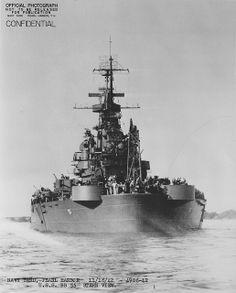 USS North Carolina (BB-55) - Corazzata classe North Carolina - Impostata il 27 ottobre 1937 Varatail 13 giugno 1940. Entrata in servizio il 9 aprile 1941 Destino finaleTrasformata in nave-museo. Caratteristiche generali: dislocamento37.484 Lunghezza222,1 m Larghezza33,0 m Pescaggio10,1 m Propulsione121.000 CV Velocità26 nodi Autonomia17.450 miglia marine (circa 32.320 km) a 15 nodi (circa 27.8 km/h) Equipaggio2,339 (144 ufficiali, 2,195 equipaggio)