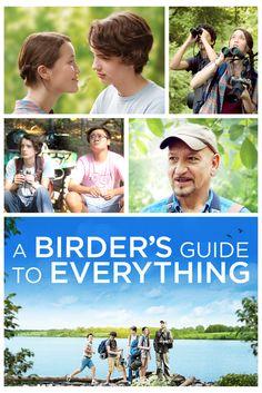 A Birder's Guide to Everything Movie Poster - Kodi Smit-McPhee, Ben Kingsley, James LeGros  #MoviePoster, #Comedy, #RobMeyer, #BenKingsley, #JamesLeGros, #KodiSmit, #McPhee