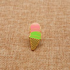 Icecream Enamel Pin Lapel Pin Alien Relic