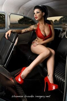 DARLING DANIKA PIN UP http://thepinuppodcast.com shares and repins cool pinup stuff...