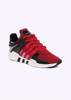 buy popular 8db49 bda35 Adidas Originals Footwear Equipment Support ADV Textile - Collegiate Red   Black Red Black, Adidas