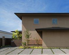 Exterior Paint Colors, Exterior Design, Japan Modern House, Japanese Modern, House Wall, Facade Architecture, Architect Design, Ideal Home, House Design