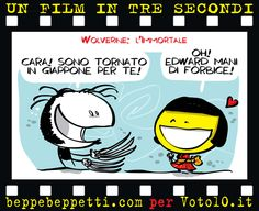 Beppe Beppetti - Un film in 3 secondi: Wolverine - L'immortale