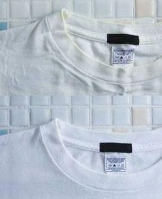 """すぐに役立つ洗濯テク!""""白Tシャツの黄ばみ""""の落とし方"""