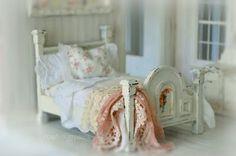 Beautiful bed & draperies
