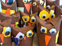 Kindergarten – Page 3 – MeriCherry Paper Owls, Cardboard Tubes, Kindergarten Writing, Toilet Paper Roll, African Animals, Elementary Art, Art School, Early Childhood, Art Projects