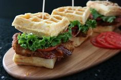 Chicken & waffles are perfect for weekend brunch. | essence.com