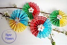 DIY Gorgeous Paper Flowers | Ef Zin Creations