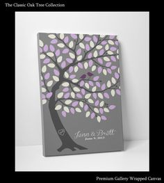 Wedding Guest Book Tree Personalized by WeddingTreeGuestbook, $64.00