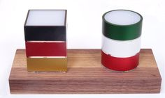 MeiLi Three Länderedition: Deutschland gegen Italien auf einer MeiLi Design Kerzenscheinbox