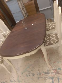 Gorgeous French Provincial Dining Set for sale....$1500   our work ...
