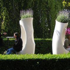 """vaso """"hollyall standard"""" by philippe starck   ufficio accessori ufficio complementi vasi arredo per esterni accessori da esterno"""