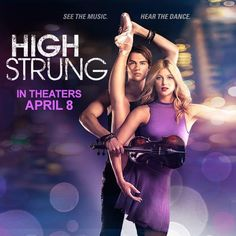High Strung Movie in theaters 4/8/16 is the story of the romance between a violin and ballet mixed with hip hop. A must see for everyone who loves music and dance of any type. #HighStrungMovie