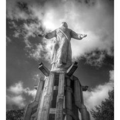 Cristo del Picacho, Honduras (October 2016) Tegucigalpa, Honduras, Greek, October, America, Statue, World, Instagram Posts, Travel