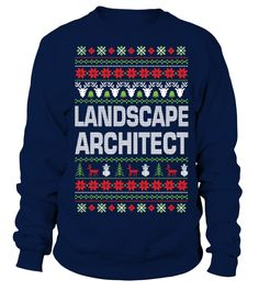 Landscape Architect Christmas Jumper
