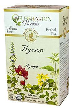 Celebration Herbals Organic Hyssop Bulk Tea Caffeine Free -- 0.84 oz