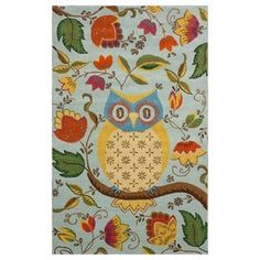 Owl Rug.
