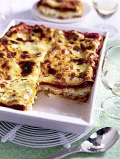 Unser beliebtes Rezept für Vegetarische Kräuter-Lasagne und mehr als 55.000 weitere kostenlose Rezepte auf LECKER.de.
