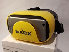 Compact Virtual Reality (VR) Headset to use with your SmartPhone. Similar to Oculus VR, Samsung Gear Vr, Allows to watch Youtube in 3D, Facebook 360 Photos and Videos. Download VR Apps from App Store