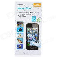 Model: IMS-WP15 - Color: Transparent - Material: High quality TPU - Waterproof grade: IPX8 - Ultra-thin design only 0.07mm - Compatible with Iphone 5 - Great for the outdoor sports such as surfing drifting boating etc. - Package includes: - 1 x Waterproof skin pouch - 2 x Adhesive sealing tapes http://j.mp/1tpcu2a