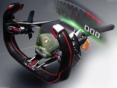 Lamborghini Lambo Vision Gran Turismo Concept - picture 16 of 17 Car Interior Sketch, Design Process, Concept Cars, Carbon Fiber, Exterior Design, Computer Mouse, Lamborghini, Futuristic, Super Cars