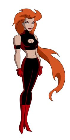 Justice League - (Volcana by SpiedyFan on DeviantArt) Dc Comics Characters, Female Characters, Marvel Dc, Dc Animated Series, Comic Character, Character Design, Dc Comics Girls, Justice League Unlimited, Dc Super Hero Girls
