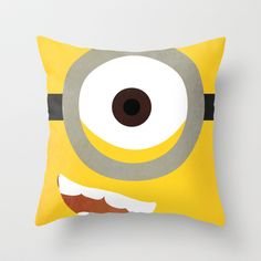 Simple Heroes - Minion Throw Pillow