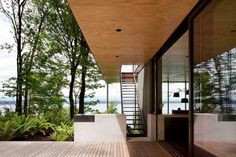 Case Inlet Retreat with amazing views over Puget Sound