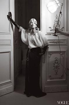 Kate Moss at The Ritz Paris 2012 Editorial