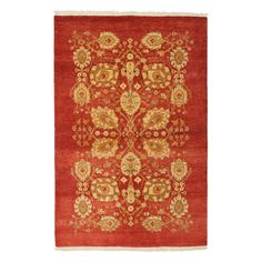 """Valley Collection Oriental Rug, 4'2"""" x 5'10"""""""