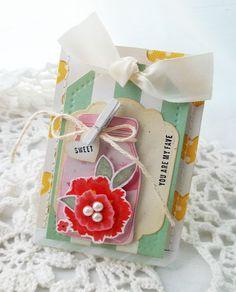Creative Paper Trail: sweet heart...