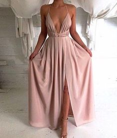 prom dresses,New Arrival simple a-line chiffon long prom dress, evening dress