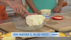 Tip de cocina: el Chef James te enseña a mantener el helado fresco (VIDEO)