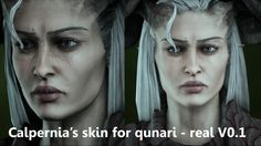 Female complexions -WIP- at Dragon Age: Inquisition Nexus - Mods and community