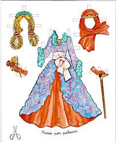 Princess Paper Doll - Sleeping Beauty
