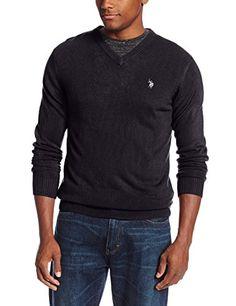 U.S. Polo Assn. Men's Solid V-Neck Sweater, Navy, Large U.S. Polo Assn. http://www.amazon.com/dp/B00LUQ3Z50/ref=cm_sw_r_pi_dp_tfZEub05JN03N