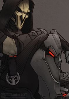[Overwatch] Reaper by Rookie141