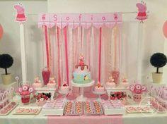 Peppa Pig Theme Birthday Party