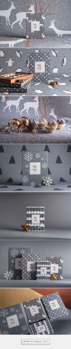 MUSE Xmas Chocolate Packaging by Mo Kalache